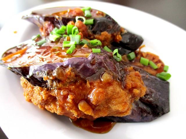 Hakka Yong Tau Foo eggplant