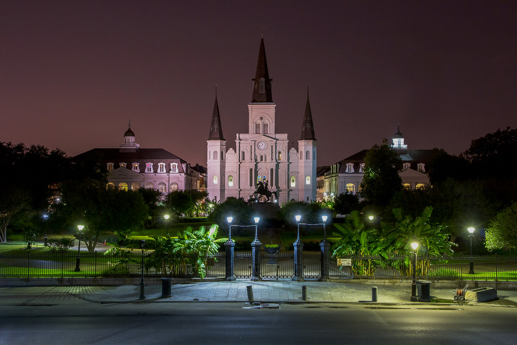 St Louis Cathedral at ...