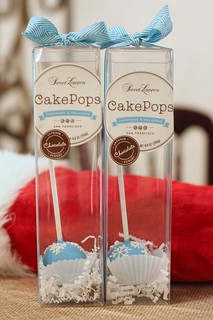 Chocolate Cake Pop Stocking Stuffer | by Sweet Lauren Cakes