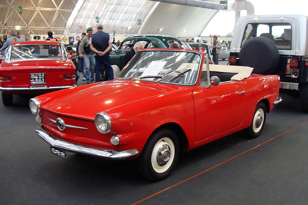Fiat 750 Vignale Cabriolet Maurizio Boi Flickr
