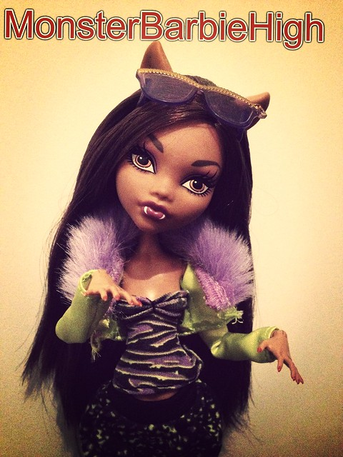 Lauren monster high clawdeen wolf pyjama party et son lit - Clawdeen wolf pyjama party ...