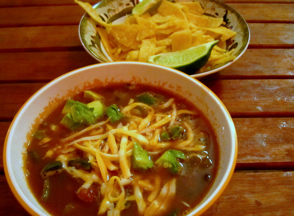 tortilla soup | Flickr - Photo Sharing!