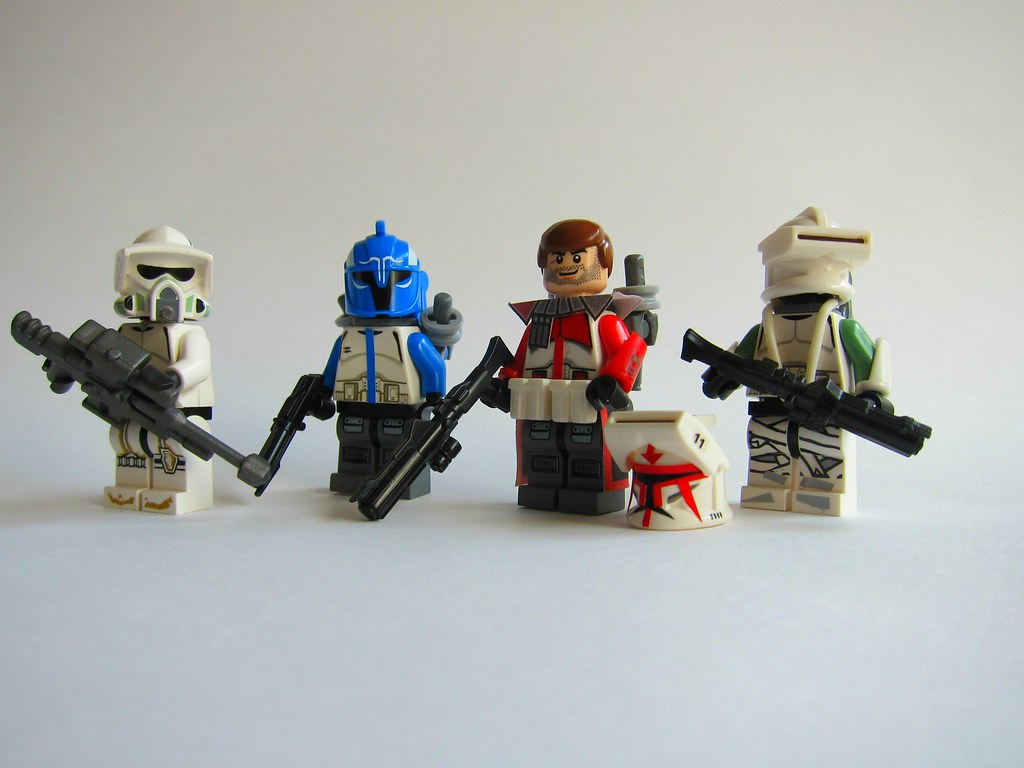 lego how to make clones