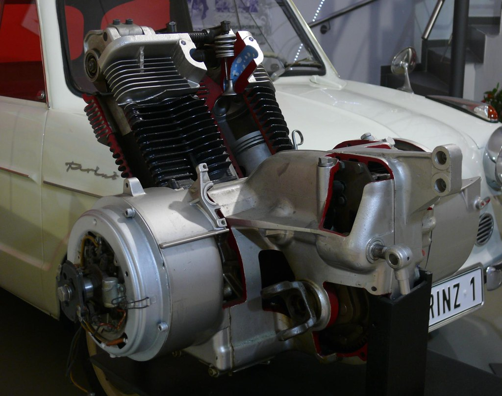 Nsu Prinz Engine Cou Out Vr Stkone Flickr