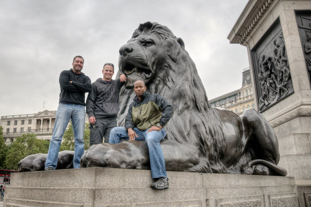 Boys & Lion