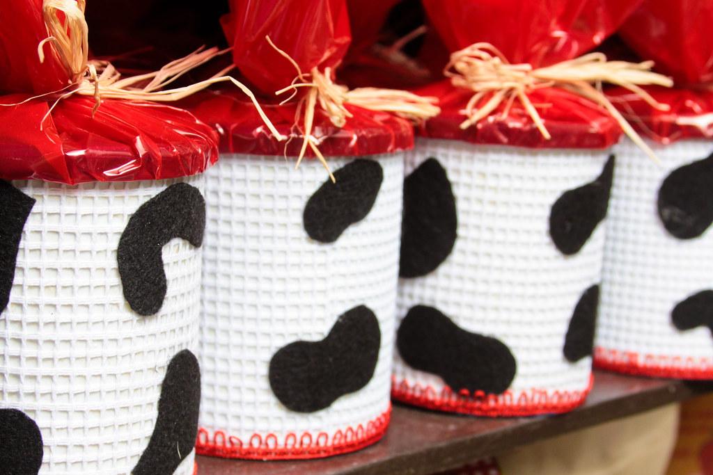 latas decoradas : Latas Decoradas Latas de Leite Decoradas tema Fazendinha ...