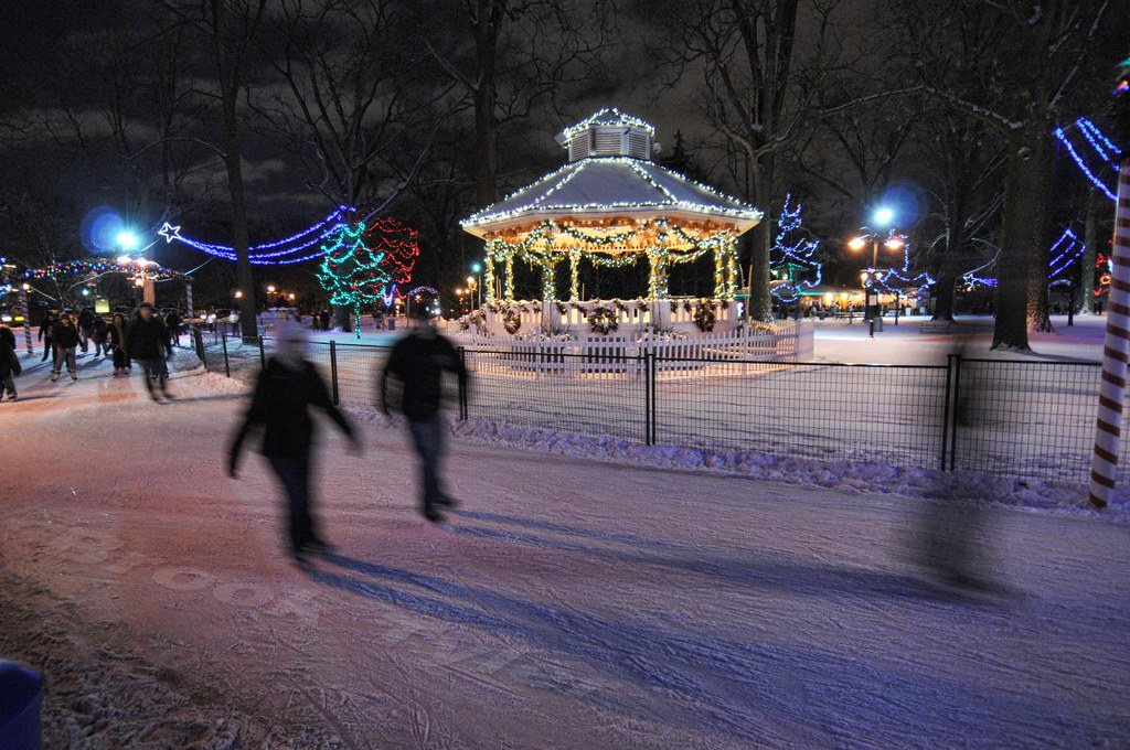 Gage Park Skating Trail The City Of Brampton Isn T What