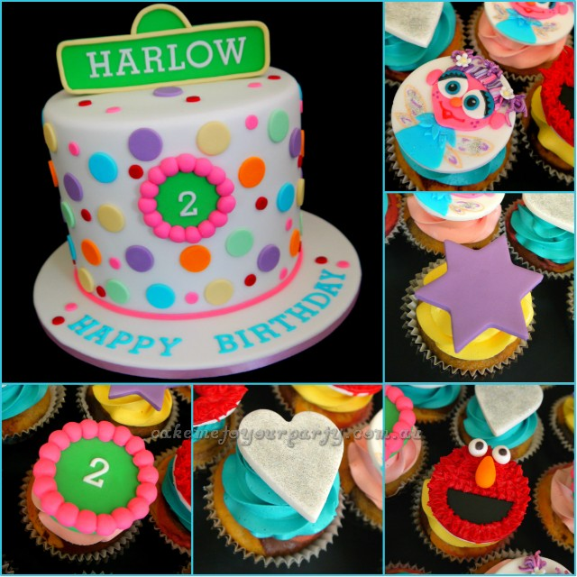 Surprising Sesame Street Cake With Elmo And Abby Cadabby Cakemeto Flickr Birthday Cards Printable Nowaargucafe Filternl