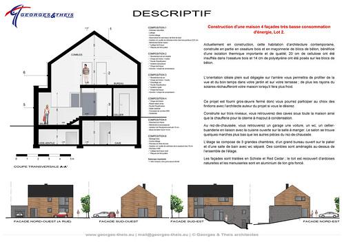 Plan m04 projet de maison tr s basse consommation d for Maison tres basse consommation