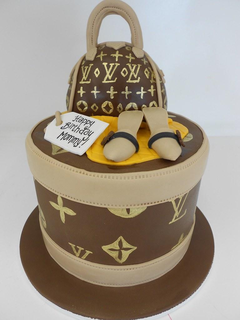 Fine Louis Vuitton Cakes Photos City Of Kenmore Washington Personalised Birthday Cards Veneteletsinfo