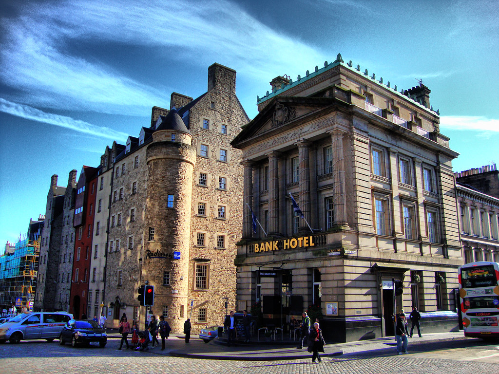 Bank Hotel The Royal Mile Edinburgh Bank Hotel And
