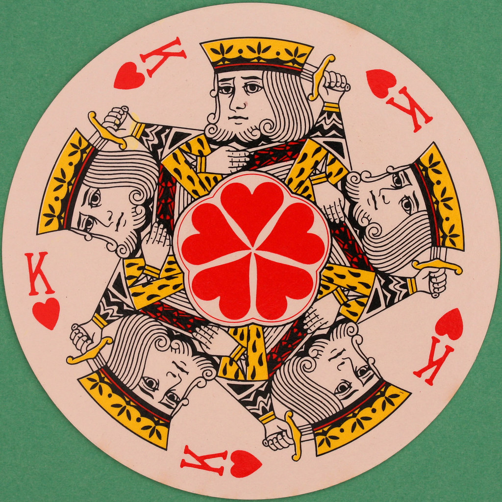 cards with hearts