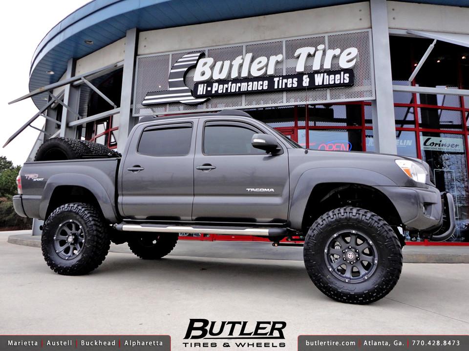 Tacoma Custom Wheels Wheels Toyota Tacoma With