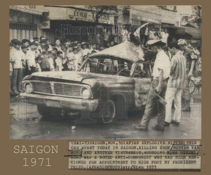 Image result for Giáo sư Nguyễn Văn Bông bị ám sát tại Sài Gòn