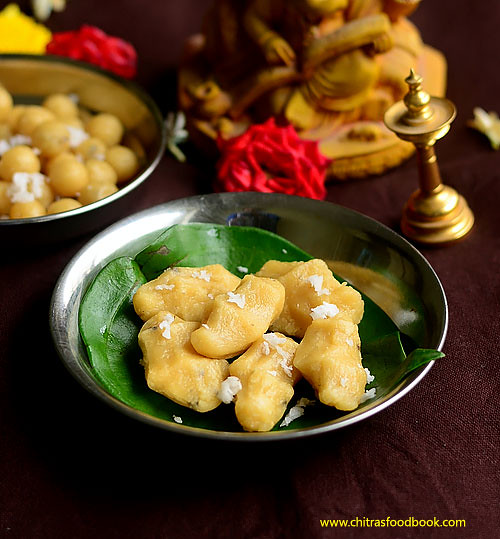 Sweet Pidi kolukattai recipe
