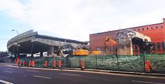 Demolition of Bonaventure Expressway