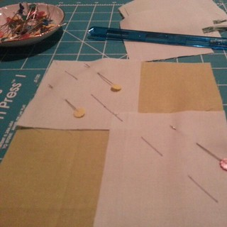 #quilting working on some magic flying geese. | by Jenniffier