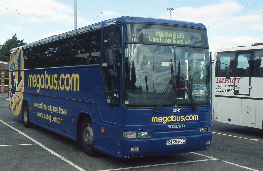 Stagecoach midland red 52446 r456fce watford gap mot for Garage volvo gap