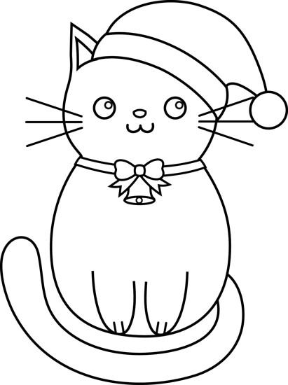 Christmas Cat Lines Rikkisrefuge Other Flickr