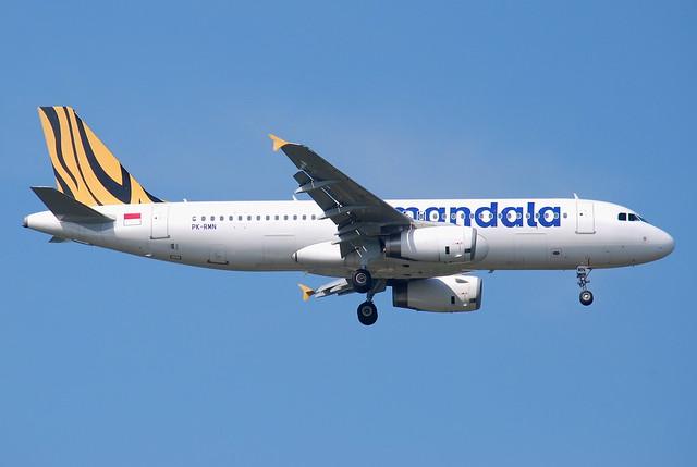 PK-RMN // Tiger Mandala Airbus A320-232