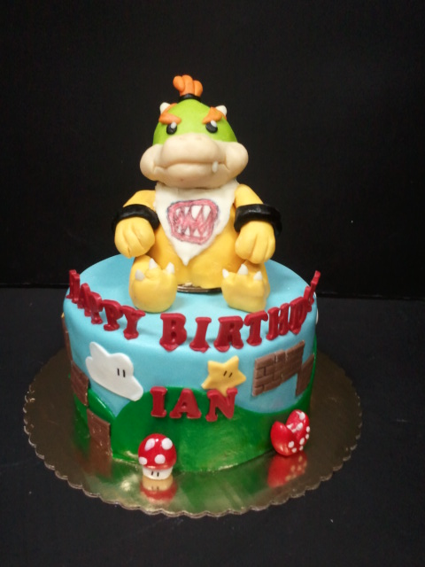 Bowser Jr Cake Drago Sisters Bakery Flickr