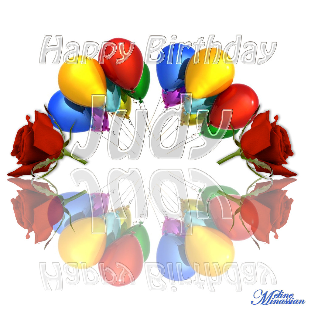 Happy Birthday Judy | May your all wishes come true ...