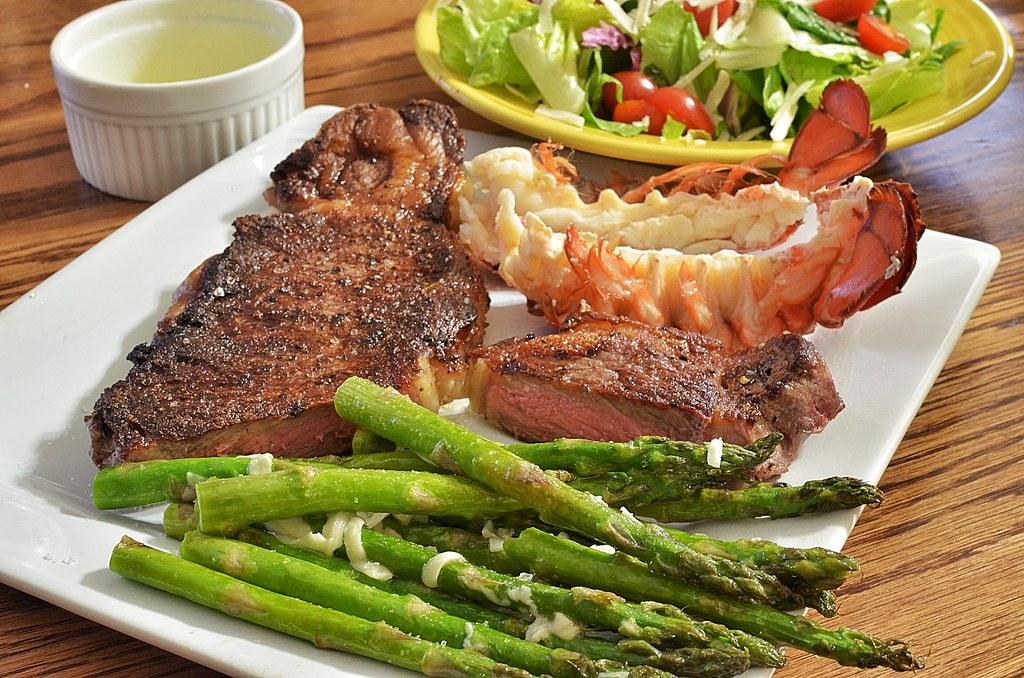 Mmm... steak and lobster | jeffreyw | Flickr
