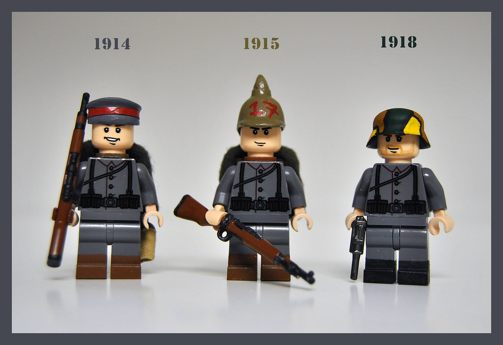 WWI German Uniform Styles | major changes: in September of ...