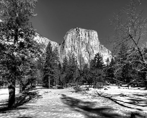 Yosemite - El Capitan and Winter Meadow | by Doug Santo