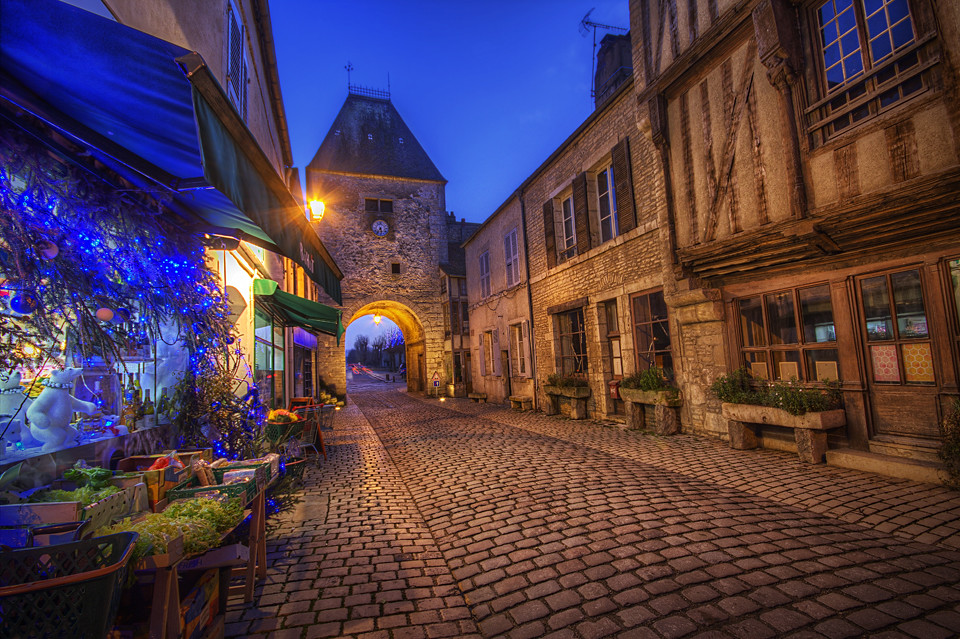 Old French Town Daily Hdr Blog Hdr One Magazine Facebo Flickr