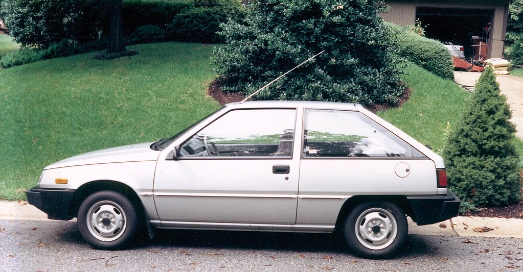 Cars I Have Owned 1987 Dodge Colt 1 5l 4 Cyl Photographe