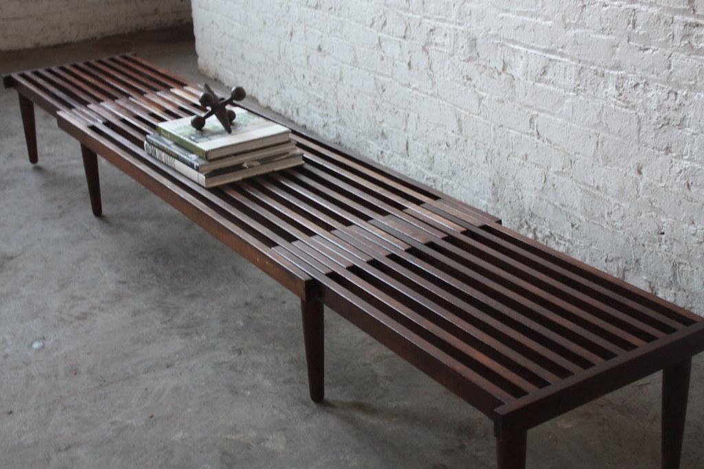 Chameleonic Brown Saltman Mid Century Modern Expandable Sl