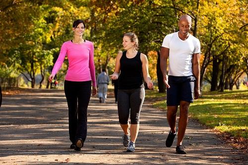 đi bộ tốt cho người bệnh tiểu đường