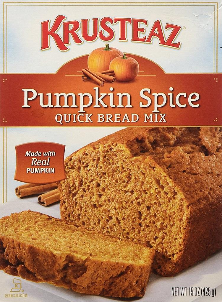 HALLOWEEN - Pumpkin Spice Quick Bread Mix - Krusteaz | Flickr