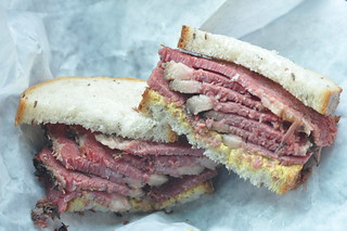 Smoked Meat Sandwich from Mile End | by nycblondieandbrownie