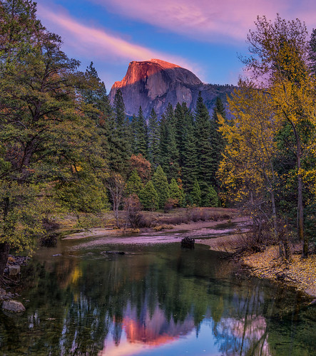 Last Light on Half Dome | by mojo2u