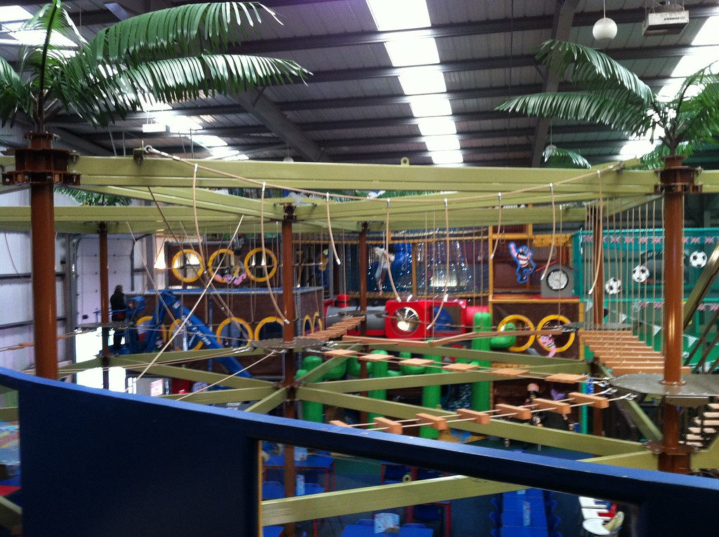 Sky Trail High Ropes Course At Mister Twisters Gateshead