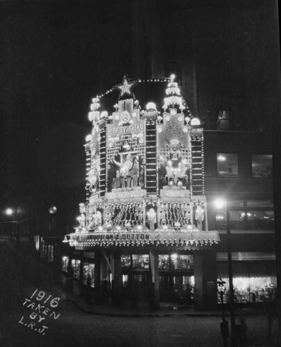 Christmas decorations on Houghton & Dutton, Washington Street | by Boston Public Library