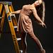 Ballerina on a Ladder