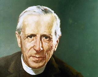 Pierre Teilhard de Chardin (1881-1955). Jesuit philosopher and paleontologist.