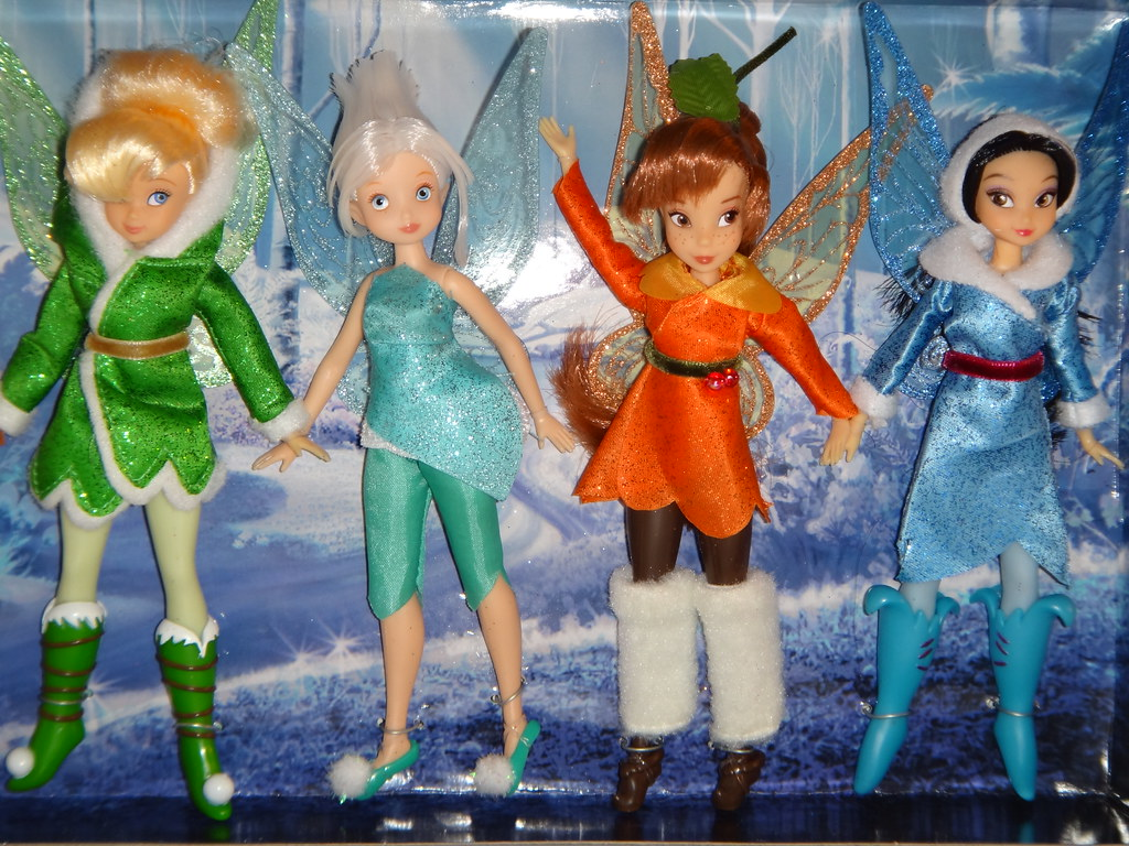 Disney Fairies 6 Doll Set First Look Deboxing Attach