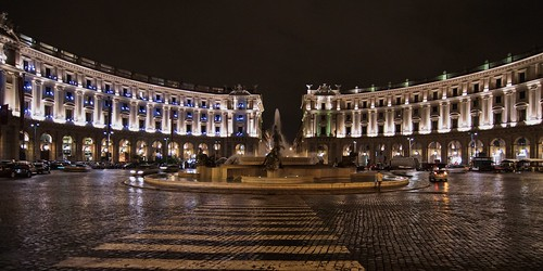 roma by night - piazza esedra | by giuseppesavo