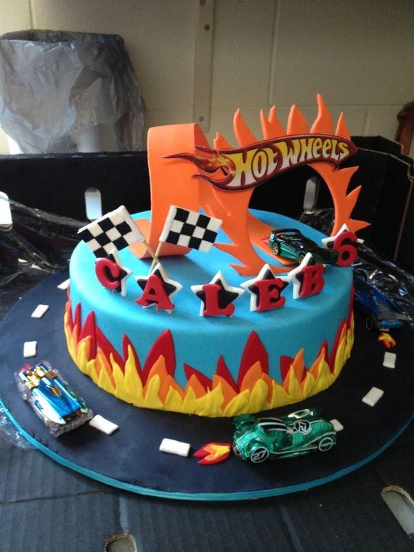 Hotwheels Cake Bakedbyzanie Flickr