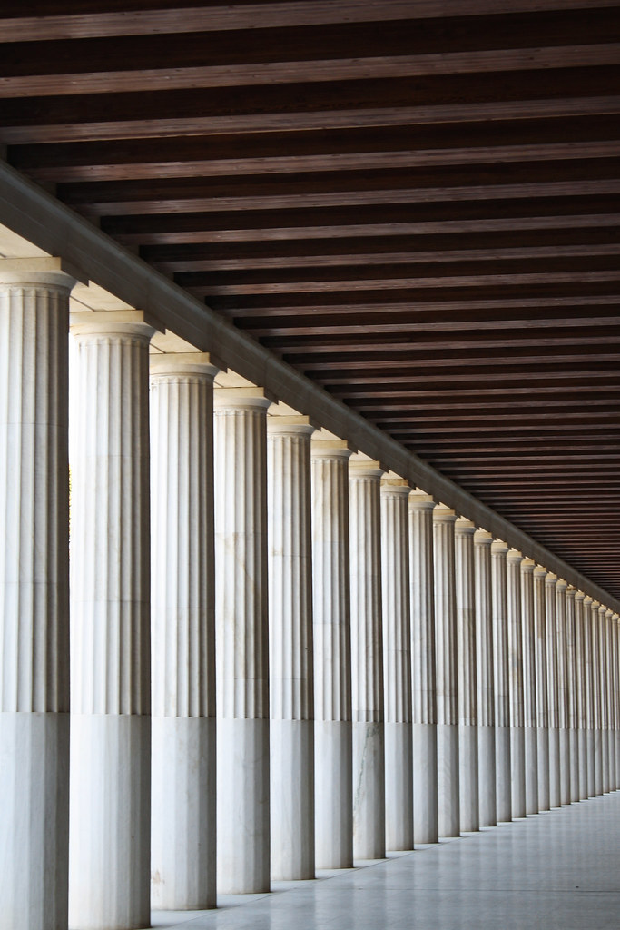 Doric Order A Study Of Perspective Athens In Their