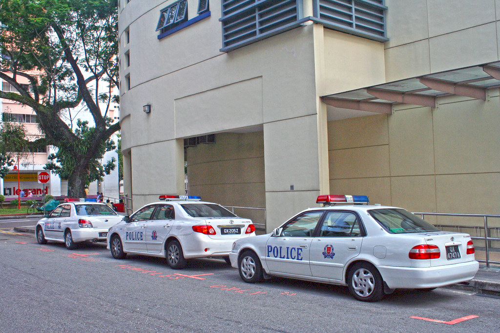 Singapore Police Cars Toyota Corolla Corolla Altis And
