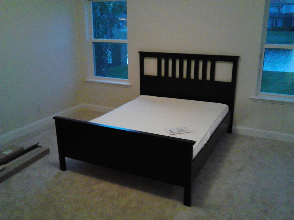 Ikea Hemnes Queen Bed Review ~ Assembly of IKEA HEMNES bed  assembly of IKEA hemnes bed fr