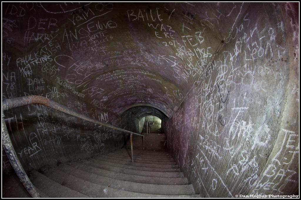 Bunker Tunnel System Map: Ramsgate Wind Tunnels,Air Raid Tunnels, By Dan Hogben (3
