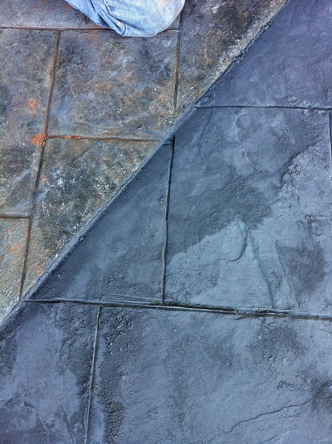 stamped concrete color pigments