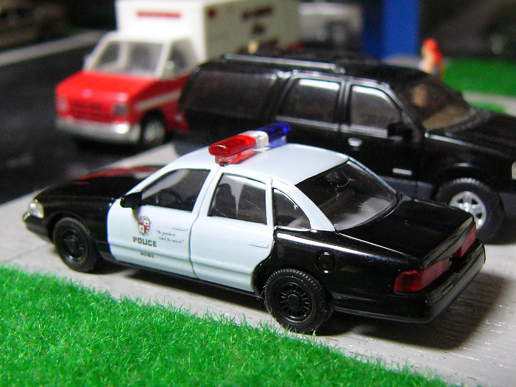 Lapd Crown Victoria >> 1:87 Ford Crown Victoria Police LAPD (2) | 1:87 scale Busch | Eric Cartman | Flickr