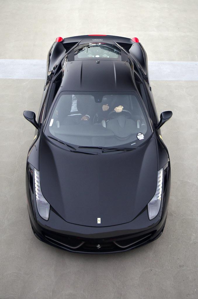 black ferrari 458 italia by axion23 - Black Ferrari 458 Italia